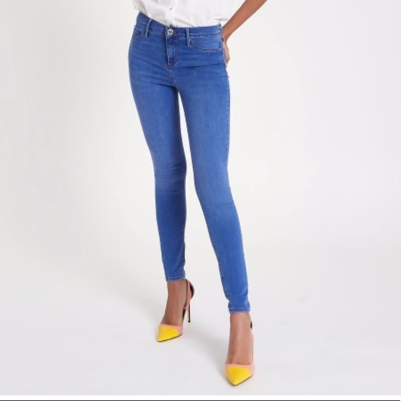 7709f0888fc64 River Island Jeans   Molly Jeggings Mid Rise   Poshmark